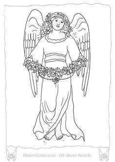 Awaiting Angel coloring, Download Awaiting Angel coloring