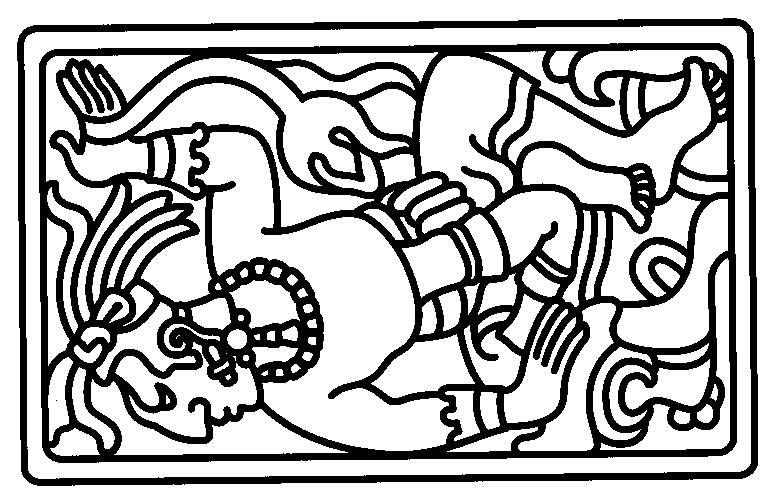 Mayan coloring, Download Mayan coloring