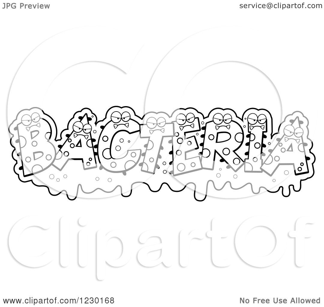 Bacteria coloring, Download Bacteria coloring
