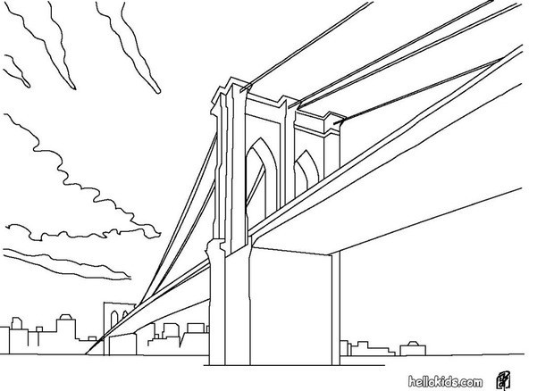 Bridge coloring, Download Bridge coloring for free 2019