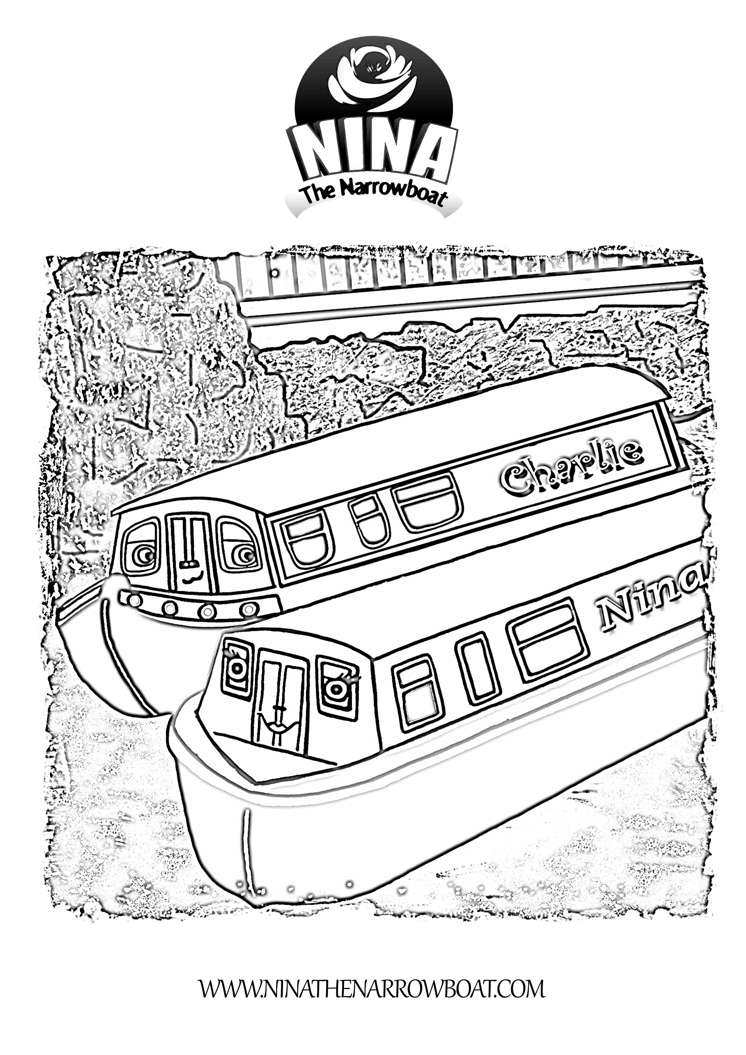 Canal coloring, Download Canal coloring