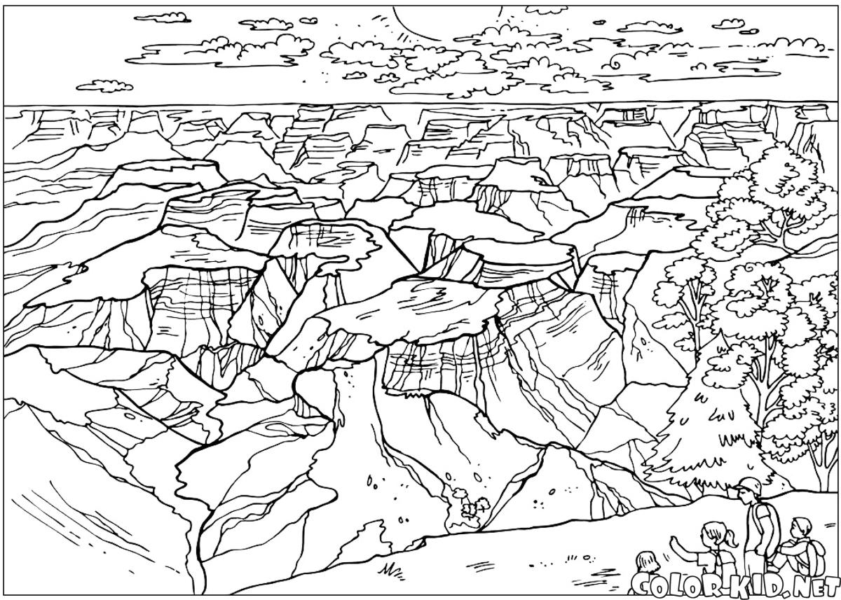 Download Niagara Falls Coloring For Free