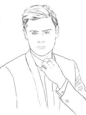 coloring zac efron famous pages celebrity books adult printable drawings swoon celebrities designlooter sketch sketches 900px 77kb socialitelife template colori