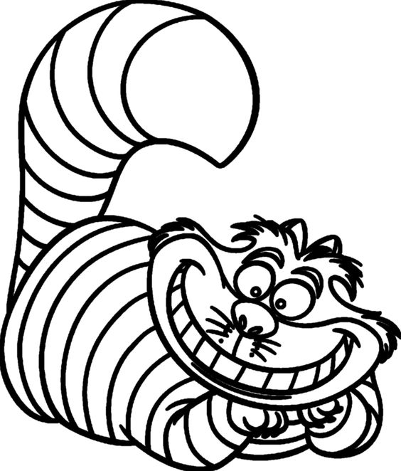 Cheshire Cat svg, Download Cheshire Cat svg