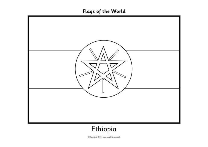 Ethiopia coloring, Download Ethiopia coloring