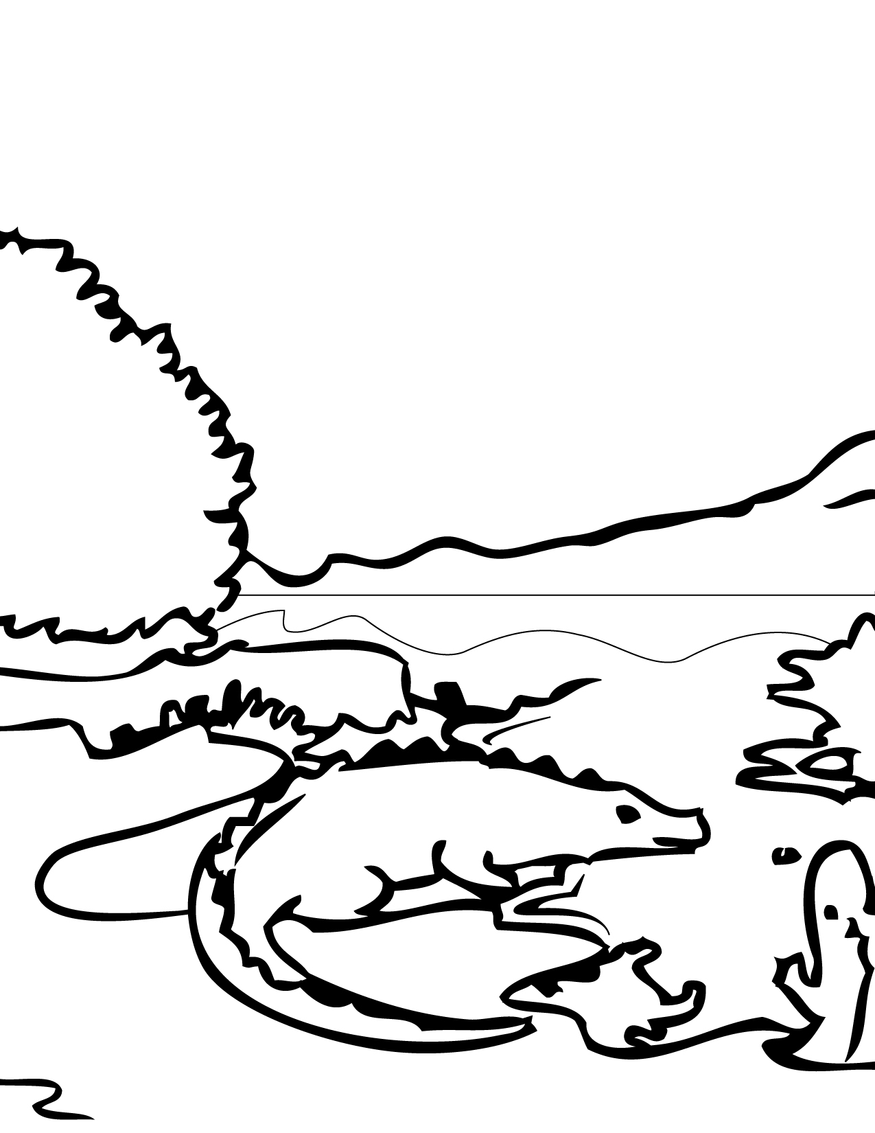 Everglades coloring, Download Everglades coloring