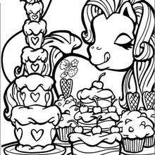 Download Fluttershy (My Little Pony) coloring for free