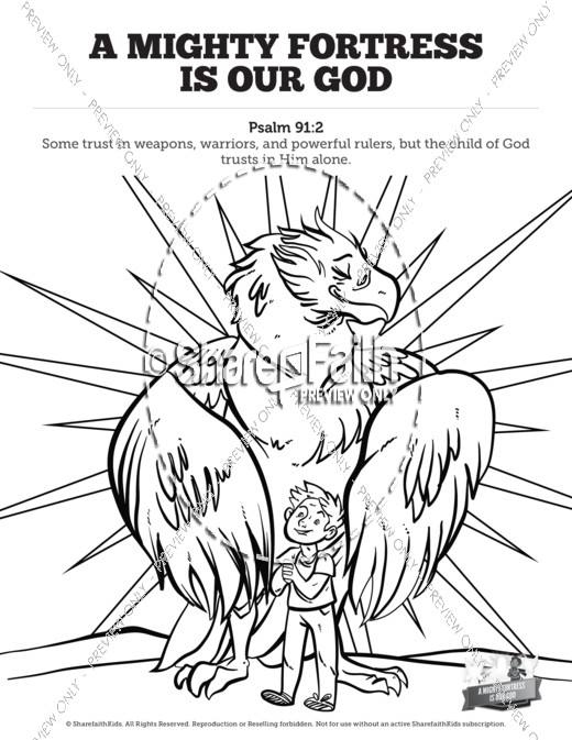 Fortress coloring, Download Fortress coloring
