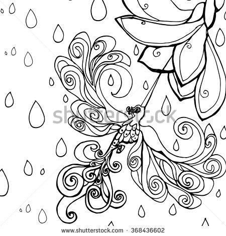 Frangipani coloring, Download Frangipani coloring