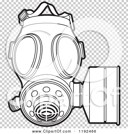 Gas Mask coloring, Download Gas Mask coloring