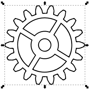 Gears coloring, Download Gears coloring
