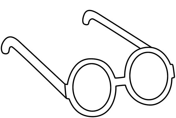 Glasses coloring, Download Glasses coloring for free 2019