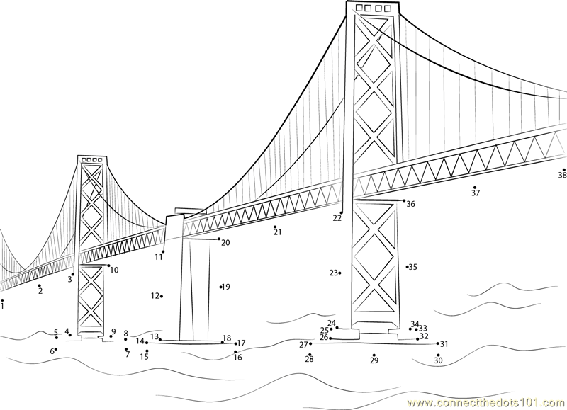 Golden Gate Coloring Download Golden Gate Coloring