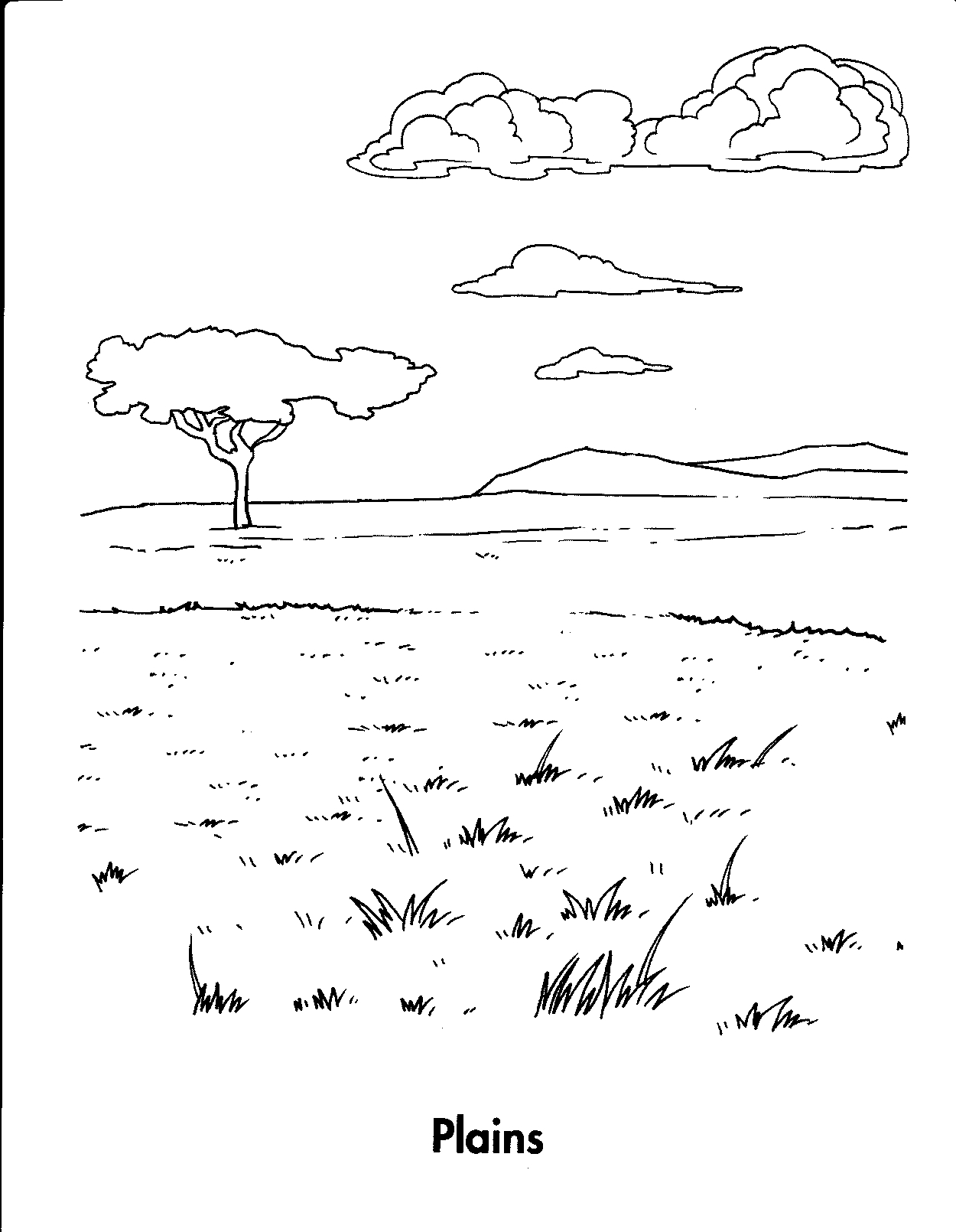 Download Great Plains Coloring For Free