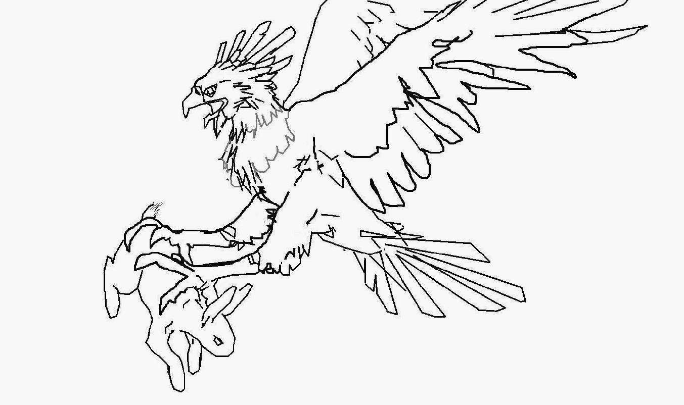 Harpy Eagle Coloring Download Harpy Eagle Coloring For