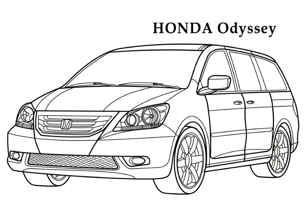 Honda coloring, Download Honda coloring for free 2019