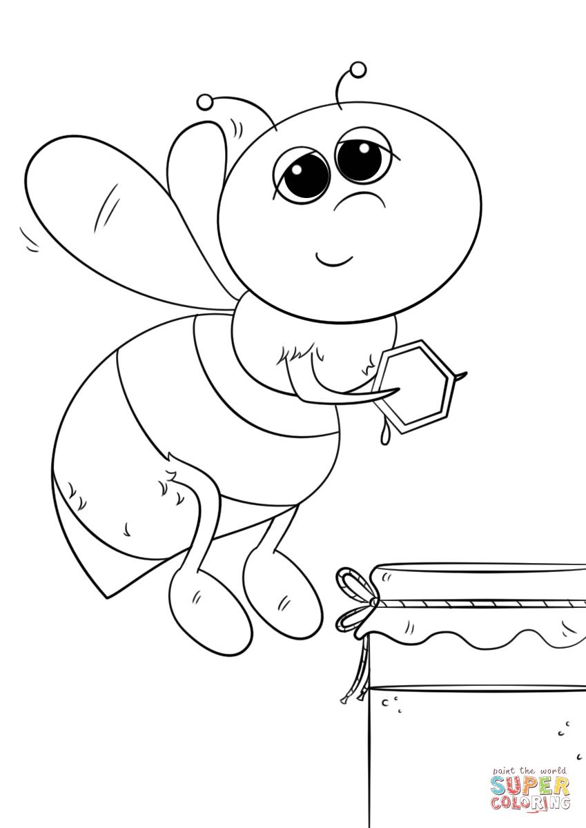 Honey coloring, Download Honey coloring
