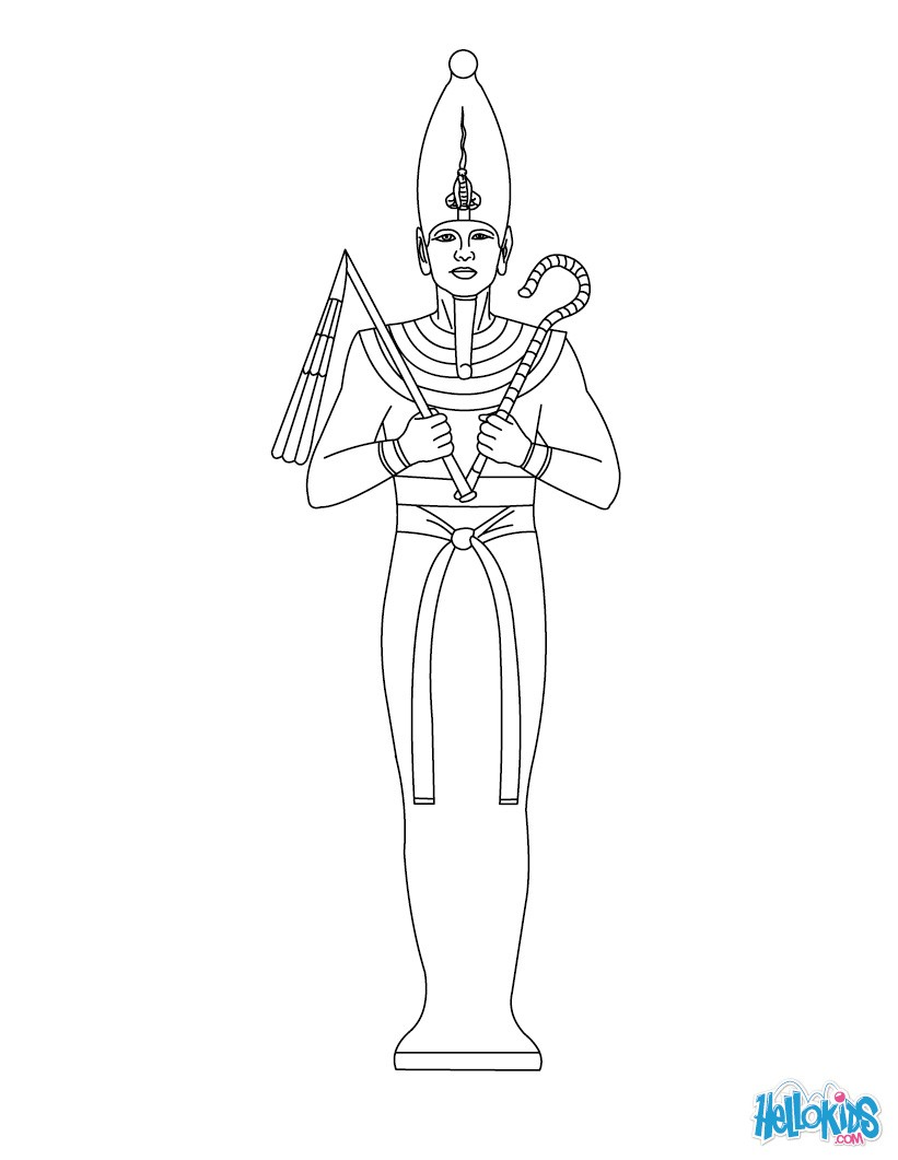 Horus (Deity) coloring, Download Horus (Deity) coloring