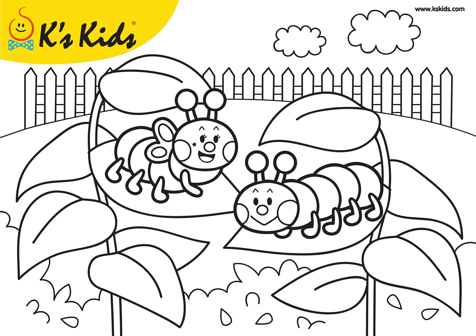 Download Inchworm Coloring For Free