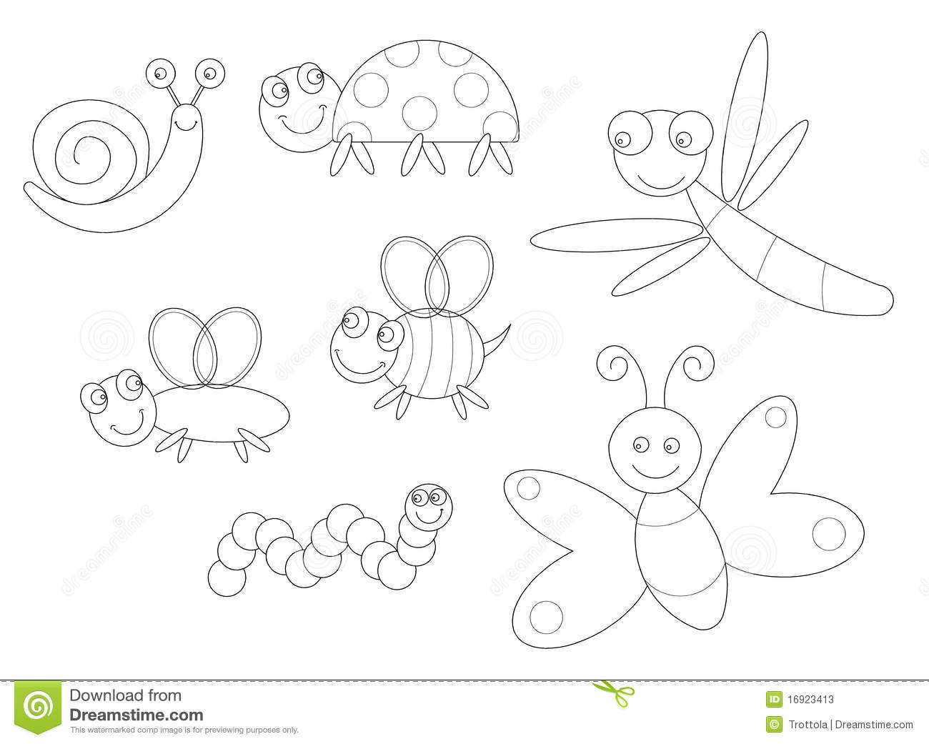 Insect Coloring Download Insect Coloring For Free