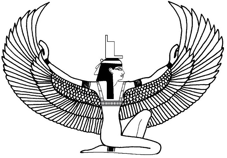 Isis (Deity) coloring, Download Isis (Deity) coloring