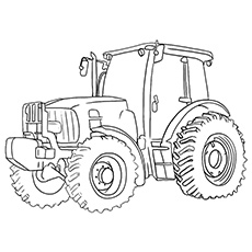1650 Oliver Tractor Coloring Pages Coloring Pages