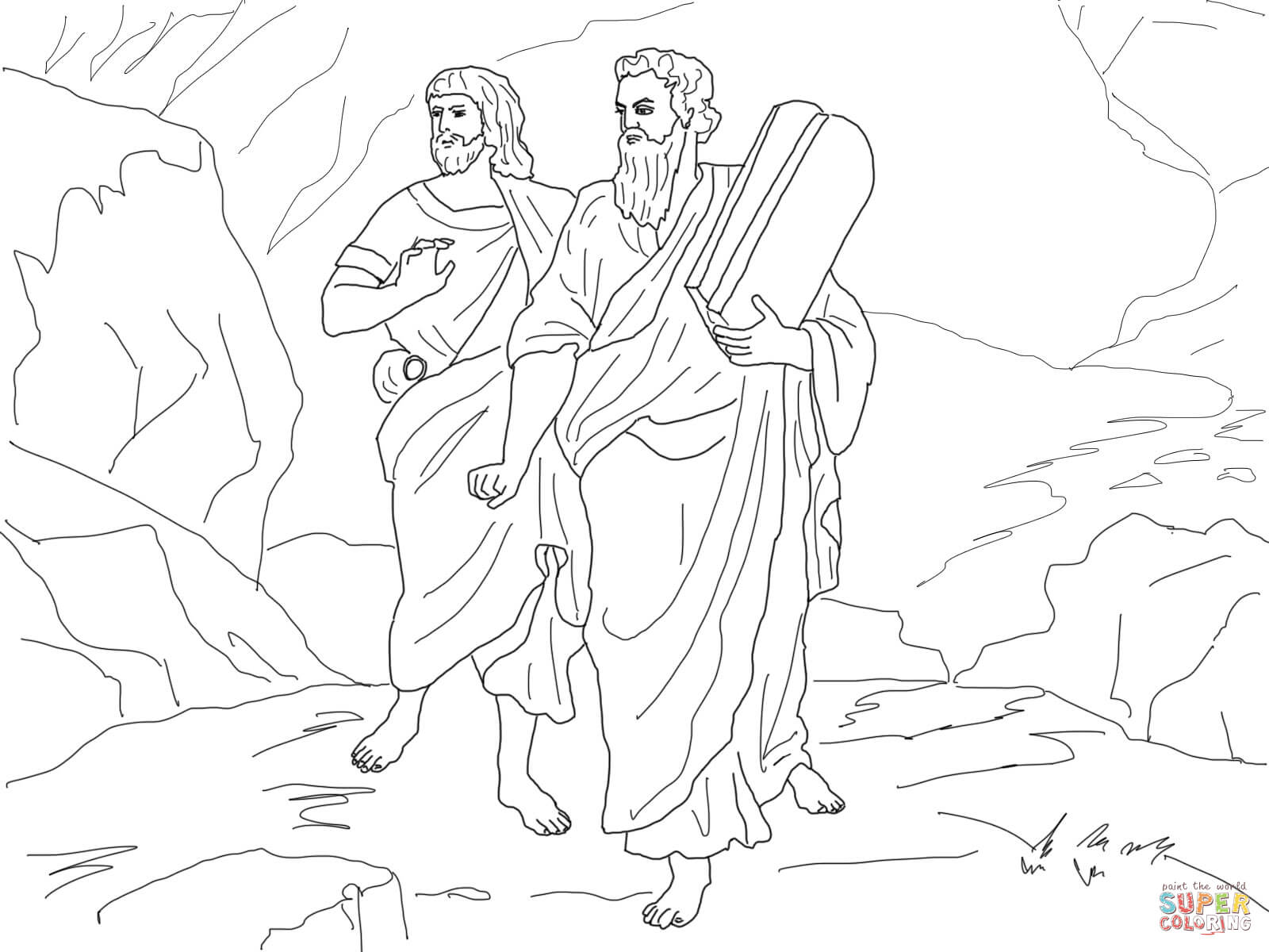 Joshua Tree coloring, Download Joshua Tree coloring for