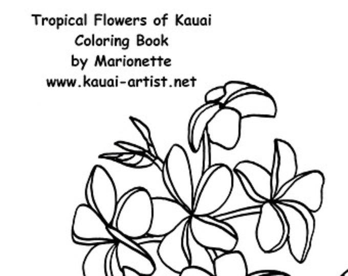 Kauai coloring, Download Kauai coloring