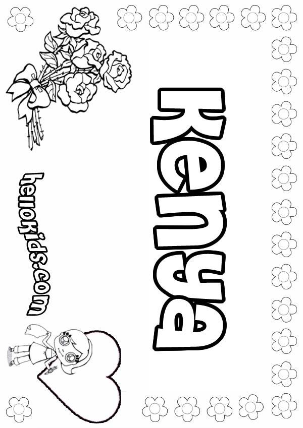 Kenia coloring, Download Kenia coloring for free 2019