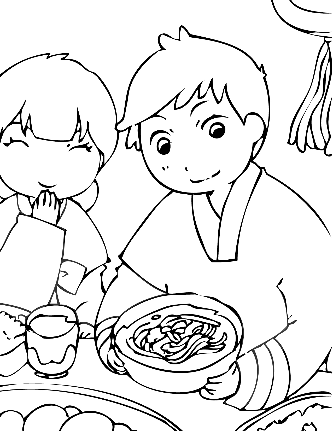 Korean Coloring Download Korean Coloring