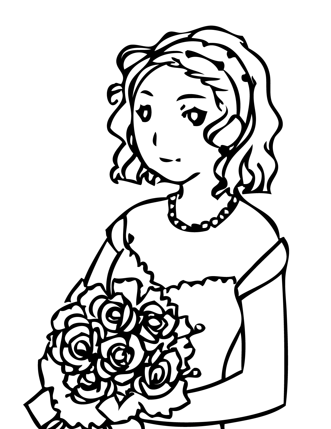 Maid Coloring Download Maid Coloring