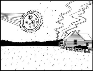 Meteorite coloring, Download Meteorite coloring