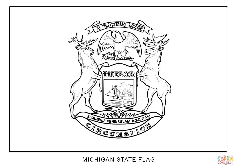 Michigan coloring, Download Michigan coloring for free 2019