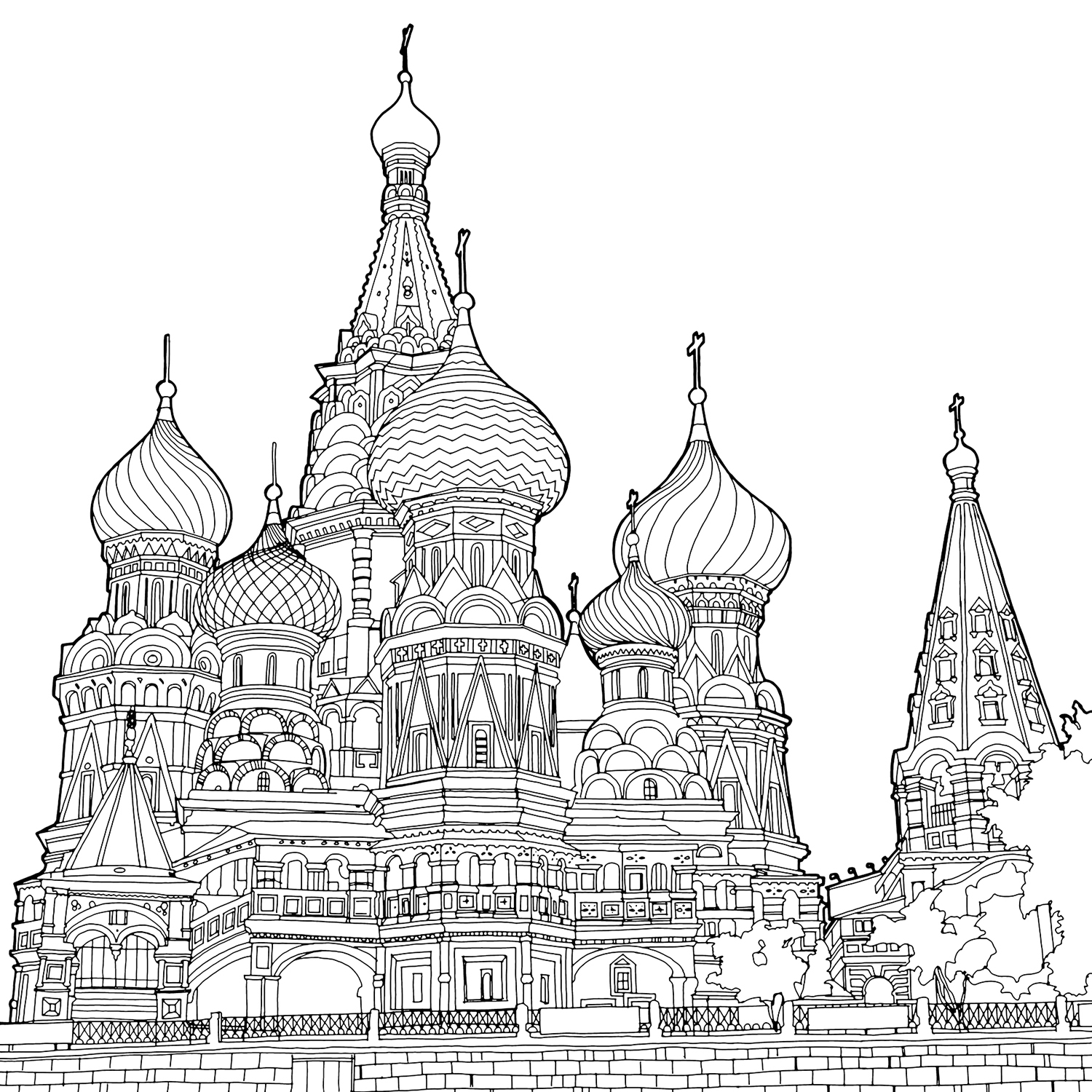 Cathedral coloring, Download Cathedral coloring
