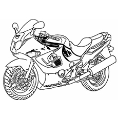 Motorcycle coloring, Download Motorcycle coloring