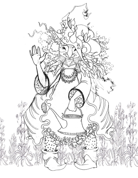 Download Neverending Story coloring for free