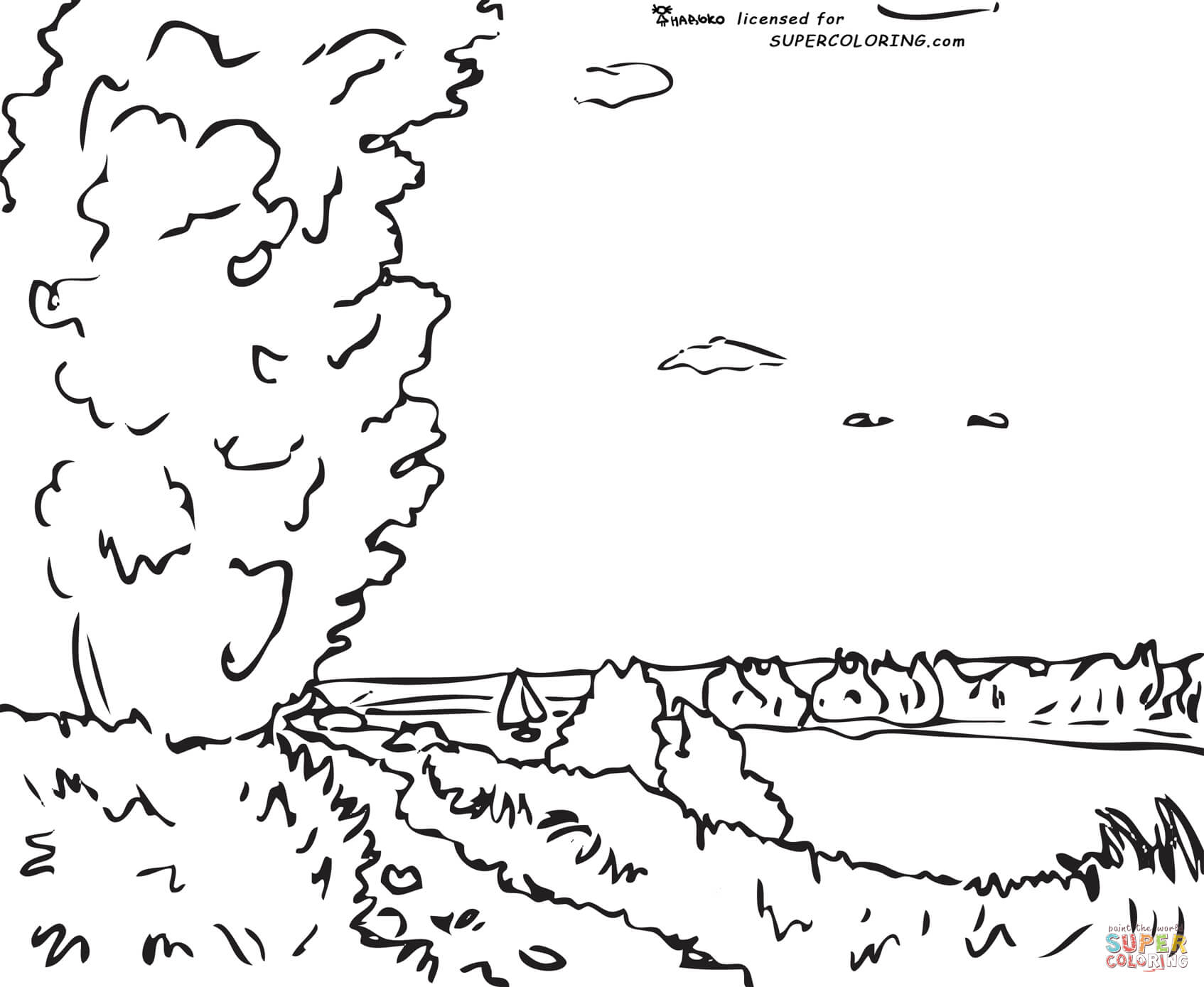Hill Coloring Download Hill Coloring