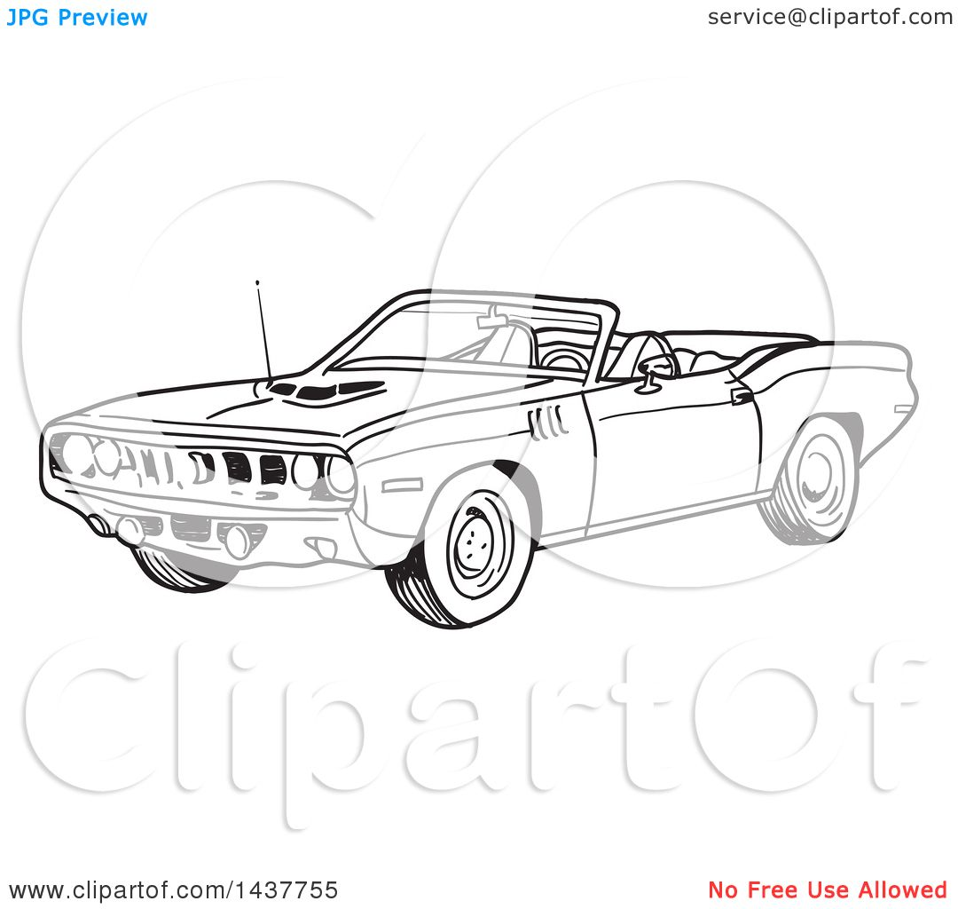 Download Plymouth Barracuda coloring for free