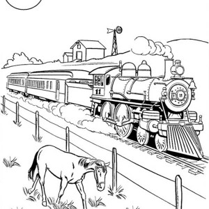 Railroad coloring, Download Railroad coloring for free 2019