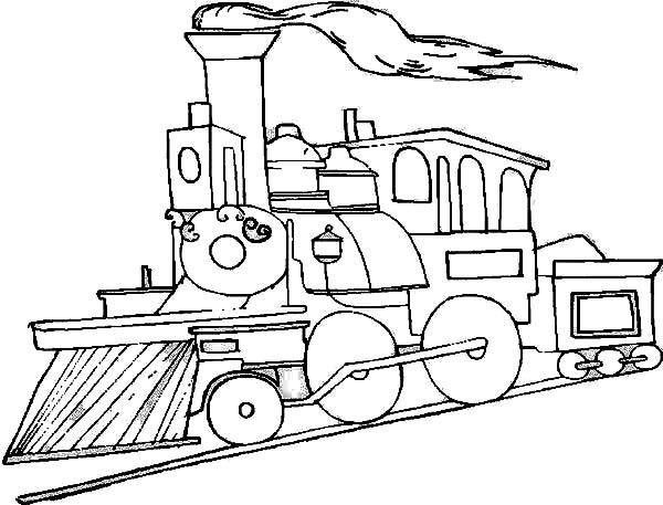 Railroad coloring, Download Railroad coloring
