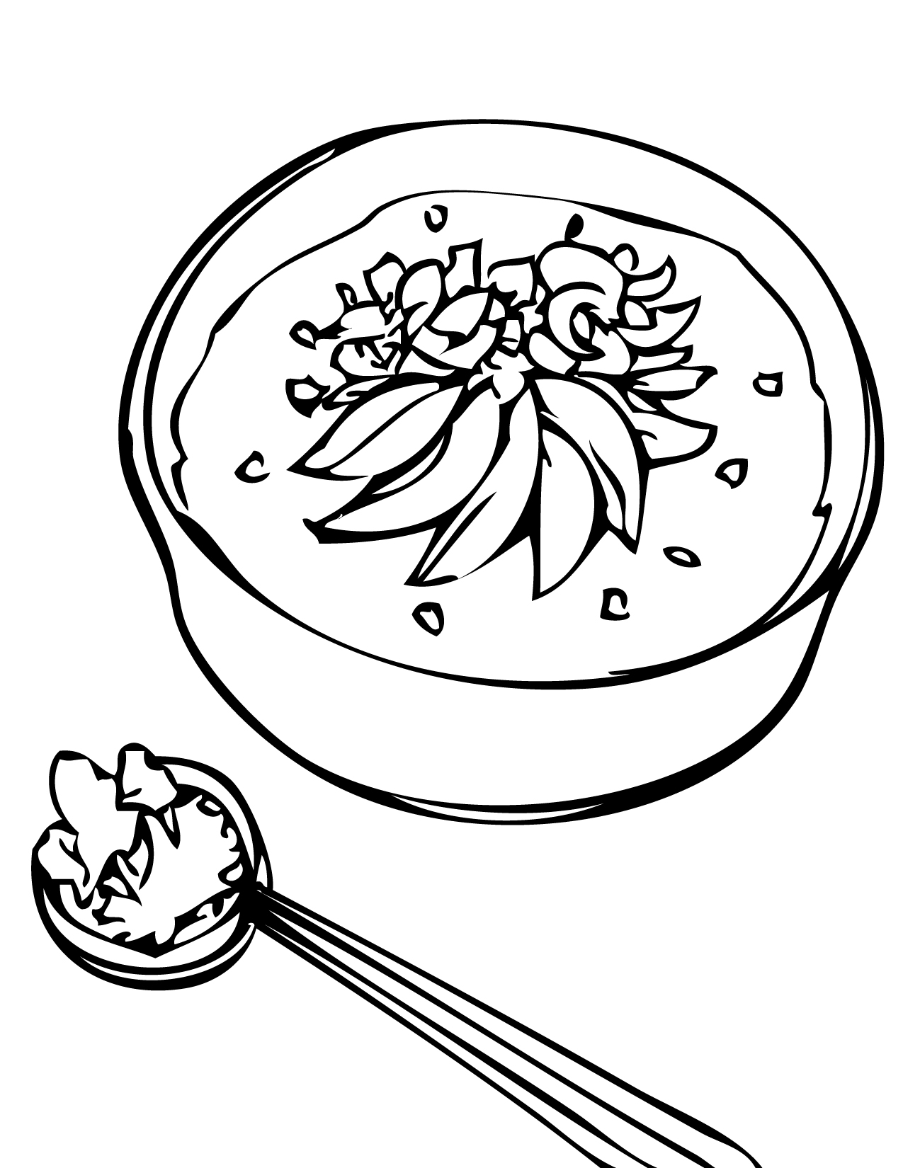 Rice Coloring Download Rice Coloring For Free