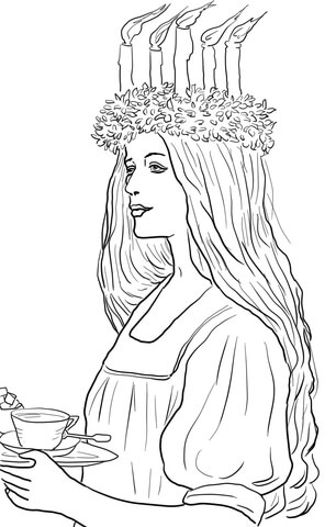 St. Lucia coloring, Download St. Lucia coloring