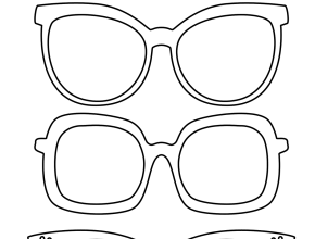 Sunglasses coloring, Download Sunglasses coloring for free