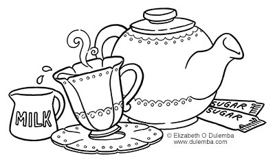Tea coloring, Download Tea coloring