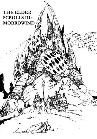 Download The Elder Scrolls III: Morrowind coloring for