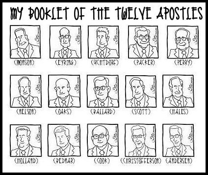 Download The Twelve Apostles clipart for free