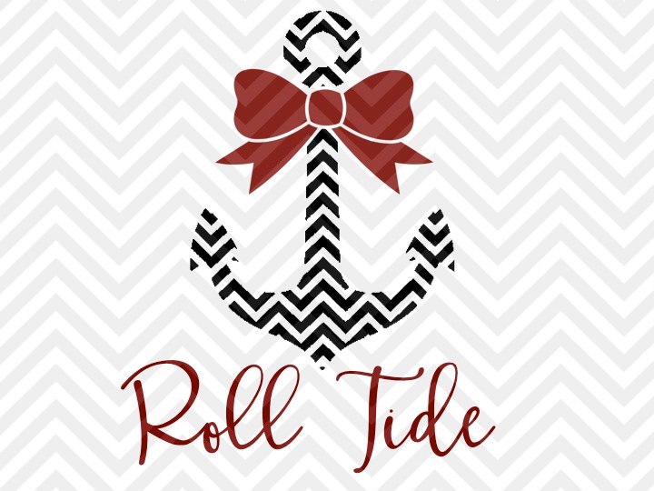 Svg Roll Alabama Tide Free