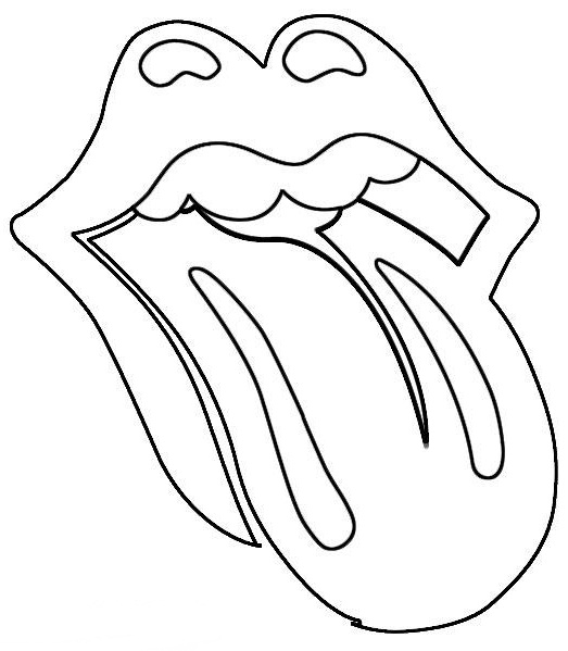 Tongue Coloring Pages