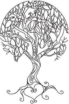Twisted Tree coloring, Download Twisted Tree coloring for