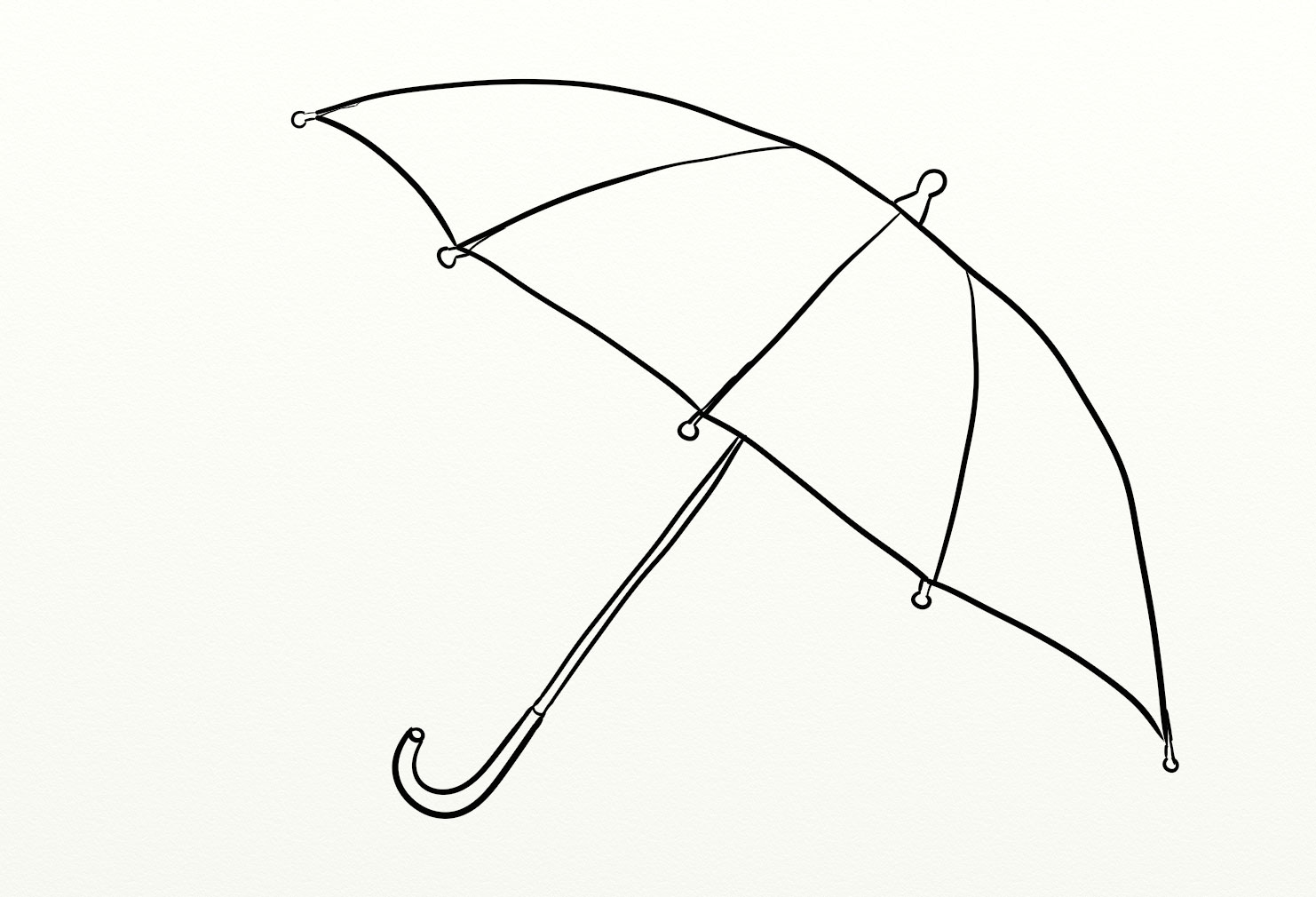 Download Umbrella Coloring For Free